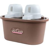 Nostalgia Electrics 4 qt. Double Flavor Ice Cream Maker
