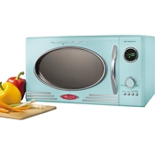 Nostalgia Electrics Retro 0.9 cu. ft. 800-Watt Countertop Microwave Oven