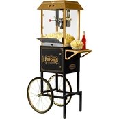 Nostalgia Electrics 59 in. Tall 10 oz. Professional Popcorn Cart