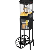 Nostalgia Electrics 45 in. Tall 2.5 oz. Popcorn Cart with 5 qt. Bowl