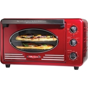 Nostalgia Electrics Retro 12 Slice Convection Toaster Oven