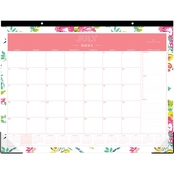 Blue Sky Day Designer 22 in. x 17 in. Desk Pad Calendar