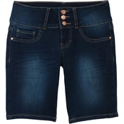YMI Girls Denim Bermuda Shorts