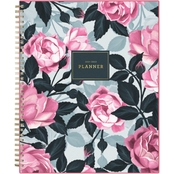 Blue Sky Roosevelt Pink Frosted 8.5 in. x 11 in. Planner