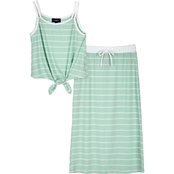 Amy Byer Girls Tank and Skirt 2 pc. Set