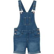 YMI Girls Cuffed Shortalls