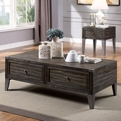 Furniture of America Piedmont Storage Cocktail Table