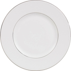 Wedgwood by Vera Wang Blanc Sur Blanc Accent Salad Plate