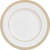 Wedgwood by Vera Wang Vera Lace Gold 9 in. Accent Salad Plate