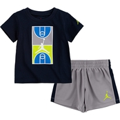 Jordan Toddler Boys Graphic Tee and Shorts 2 pc. Set