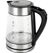 Kalorik 1.7L Rapid Boil Digital Electric Kettle.