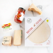 The Gourmet Market Italian Classic Four Cheese Pizza Gift Box
