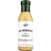 Yo Mama's Low Carb Dressing Combo Pack 8 Bottles, 13 oz. each