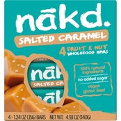 Nakd Bars Nakd Salted Caramel Family Pack 1.24 oz. units, 48 pk.