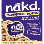Nak'd Bars Nakd Blueberry Muffin Family Pack 1.24 oz units, 48 pk.
