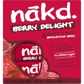 Nak'd Bars Nakd Berry Delight Family Pack 1.24 oz. units, 48 pk.
