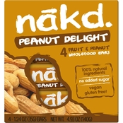 Nak'd Bars Nakd Peanut Delight Family Pack 1.24 oz. units, 48 pk.