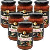 Botticelli Premium Pizza Pasta Sauce 6 x 12 oz. Jars