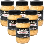 Botticelli Minced Garlic in Extra Virgin Olive Oil 16 oz. Plastic Jars, 6 pk.