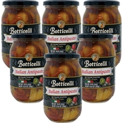 Botticelli Hot Antipasto 18 oz. Glass Jars, 6 pk.
