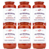Yo Mama's Keto and Paleo Spicy Marinara and Regular Marinara Pasta Sauce