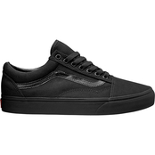Vans Women's Old Skool Black Mono Shoes