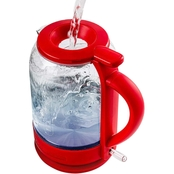 Ovente Electric Hot Water Glass Kettle 1.5 L.