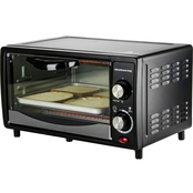Ovente Countertop 4 Slice Capacity Convection Toaster Oven