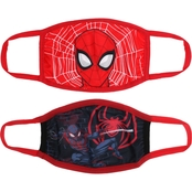 Marvel Kids Spider Man Face Mask 2 pk.