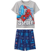 Marvel Infant Boys Spider-Man Tee and Shorts 2 pc. Set