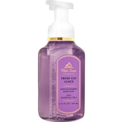 Bath & Body Works White Barn Color Foaming Soap, Fresh Cut Lilacs 8 oz.