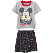Disney Toddler Boys Mickey Mouse Smiley Face Shorts and Tee 2 pc. Set