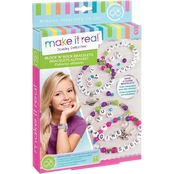 Make It Real Block and Rock Charm Bracelets