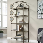 Sauder International Lux Bookcase Bronze