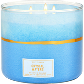 Bath & Body Works Fresh Start Decor Crystal Waters 3 Wick Candle