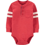 OshKosh B'gosh Infant Boys Varsity Henley Bodysuit