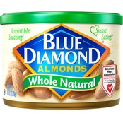 Blue Diamond Almonds Whole Natural 6 Oz. Can