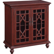 Coast to Coast Accents Esnon 2 Door Cabinet