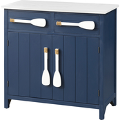 Coast to Coast Accents 2 Drawer, 2 Door Cabinet