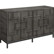 Coast to Coast Accents 4 Door Credenza