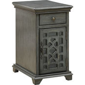Coast to Coast Accents Joplin 1 Drawer, 1 Door Chairside Cabinet