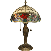 Dale Tiffany Malta 21.75 in. Table Lamp