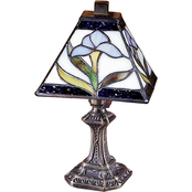 Dale Tiffany Irene 11 in. Accent Lamp