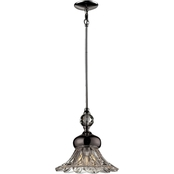 Dale Tiffany Ovation Crystal 34 in. Mini Pendant