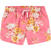 OshKosh B'gosh Little Girls Floral Sun Shorts