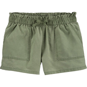 OshKosh B'gosh Little Girls Paperbag Waist Shorts