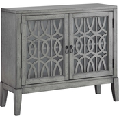 Coast to Coast Accents Distressed 2 Door Cabinet