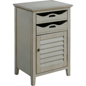 Coast to Coast Accents Madrillon 1Door, 2 Drawer Cabinet