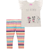 Disney Infant Girls Minnie and Friends Top and Leggings 2 pc. Set