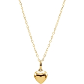 Karat Kids 14K Yellow Gold 15 In. Heart Necklace